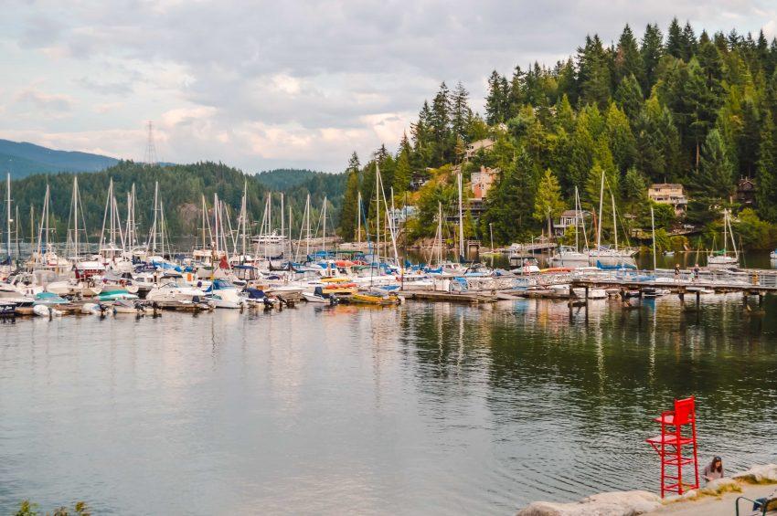 Deep Cove, one of the ten Vancouver day trips I recommend.