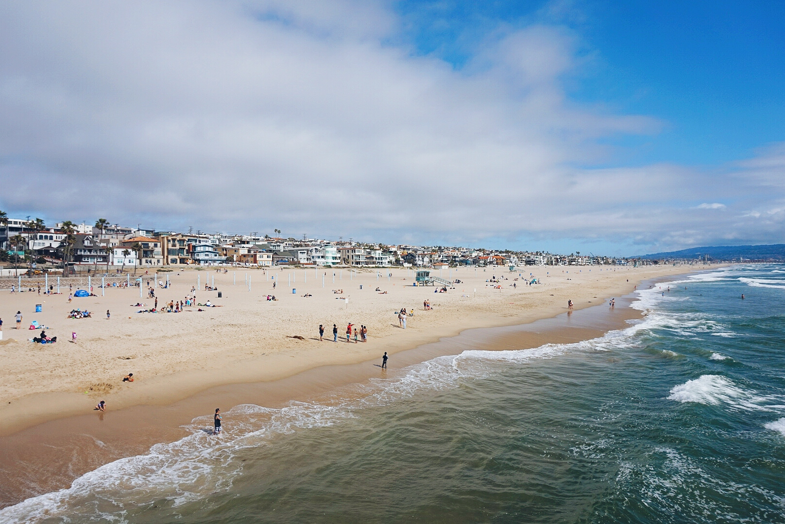 Things to do in LA: visit Manhattan Beach