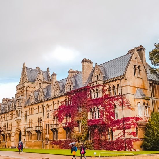 Christ Church College in Oxford, England